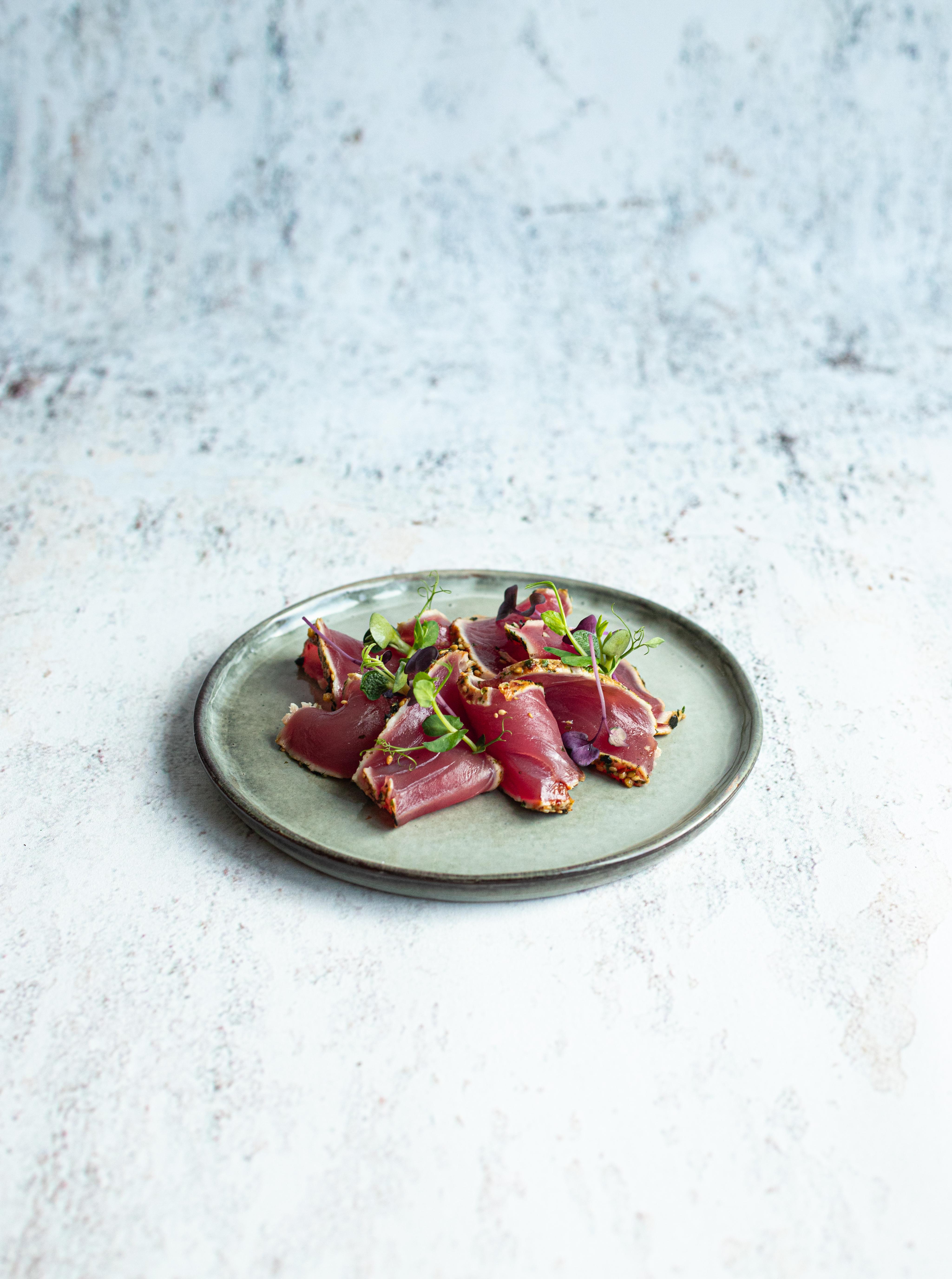Kort gebakken tonijn 180 gram