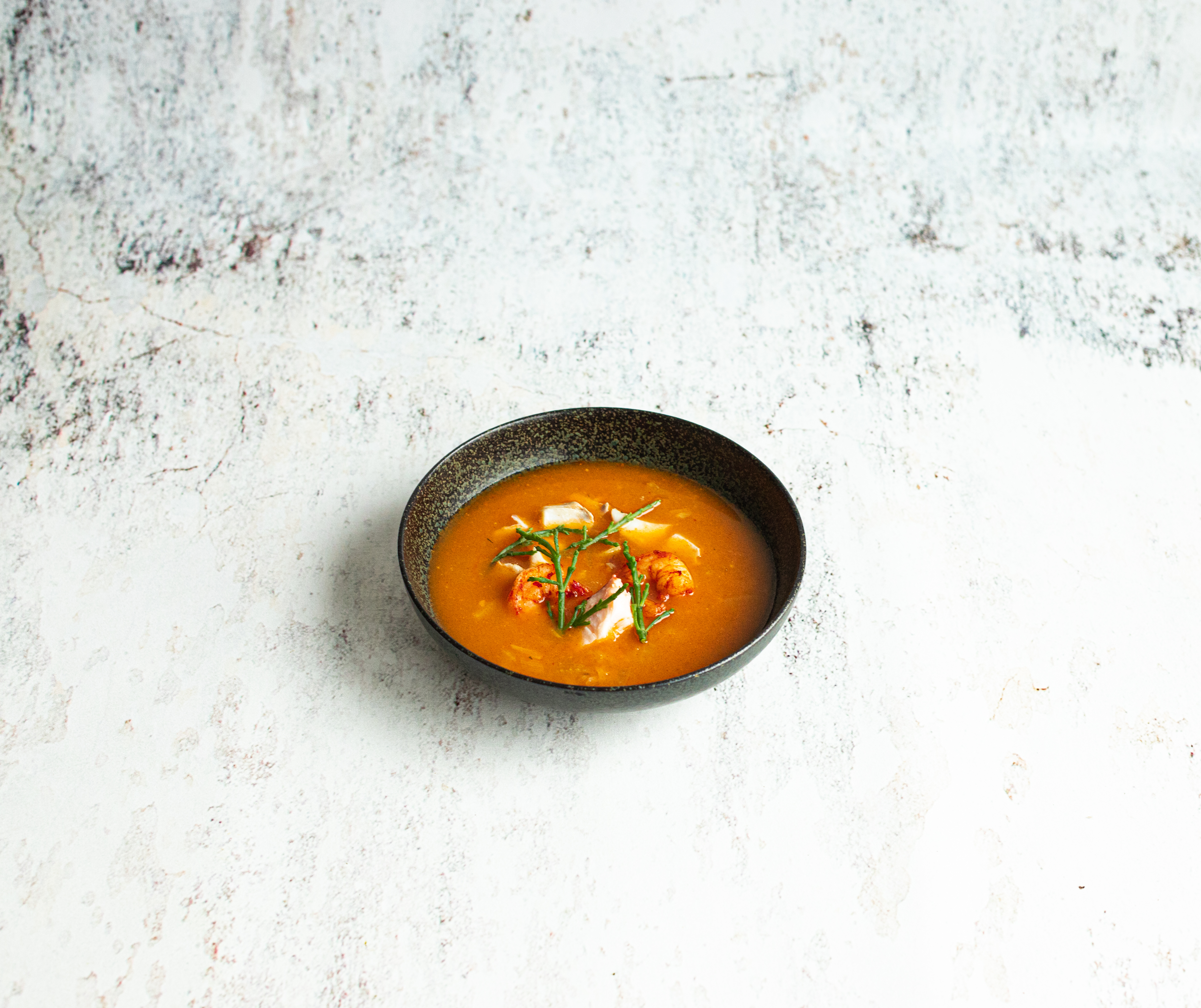 Bouillabaisse soep