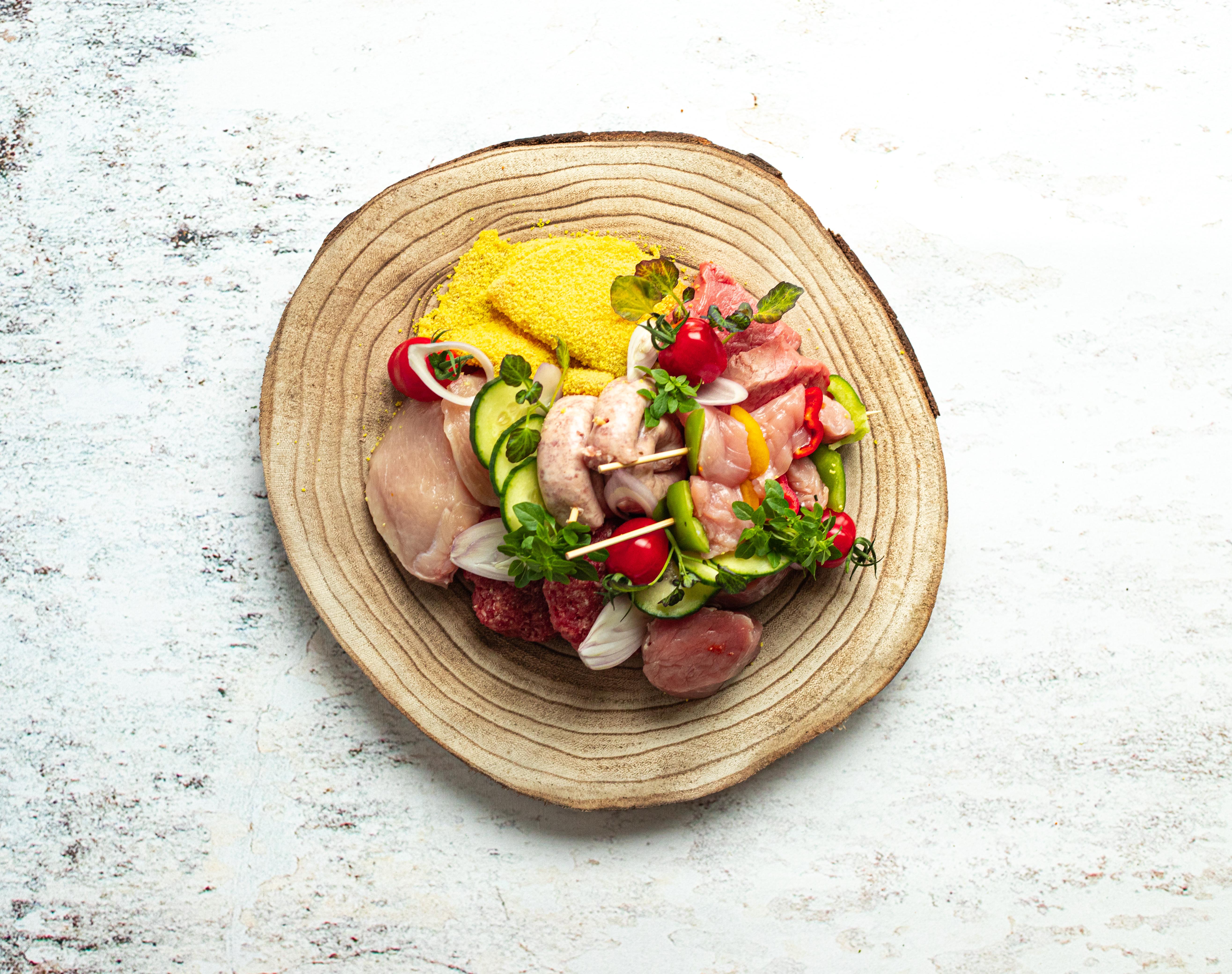 Vlees gourmet - steengrill