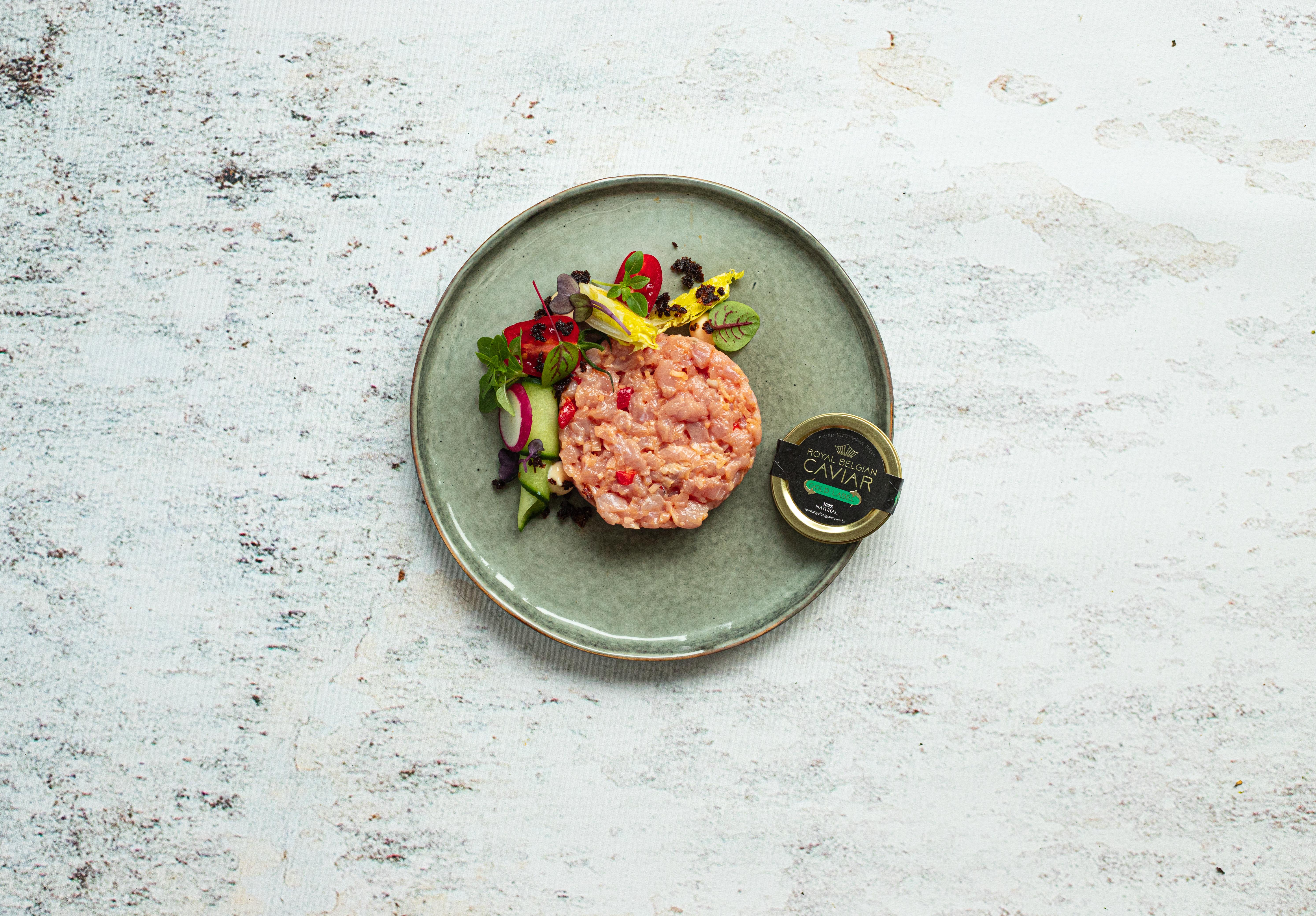 Kalfstartaar met Royal Belgian Caviar