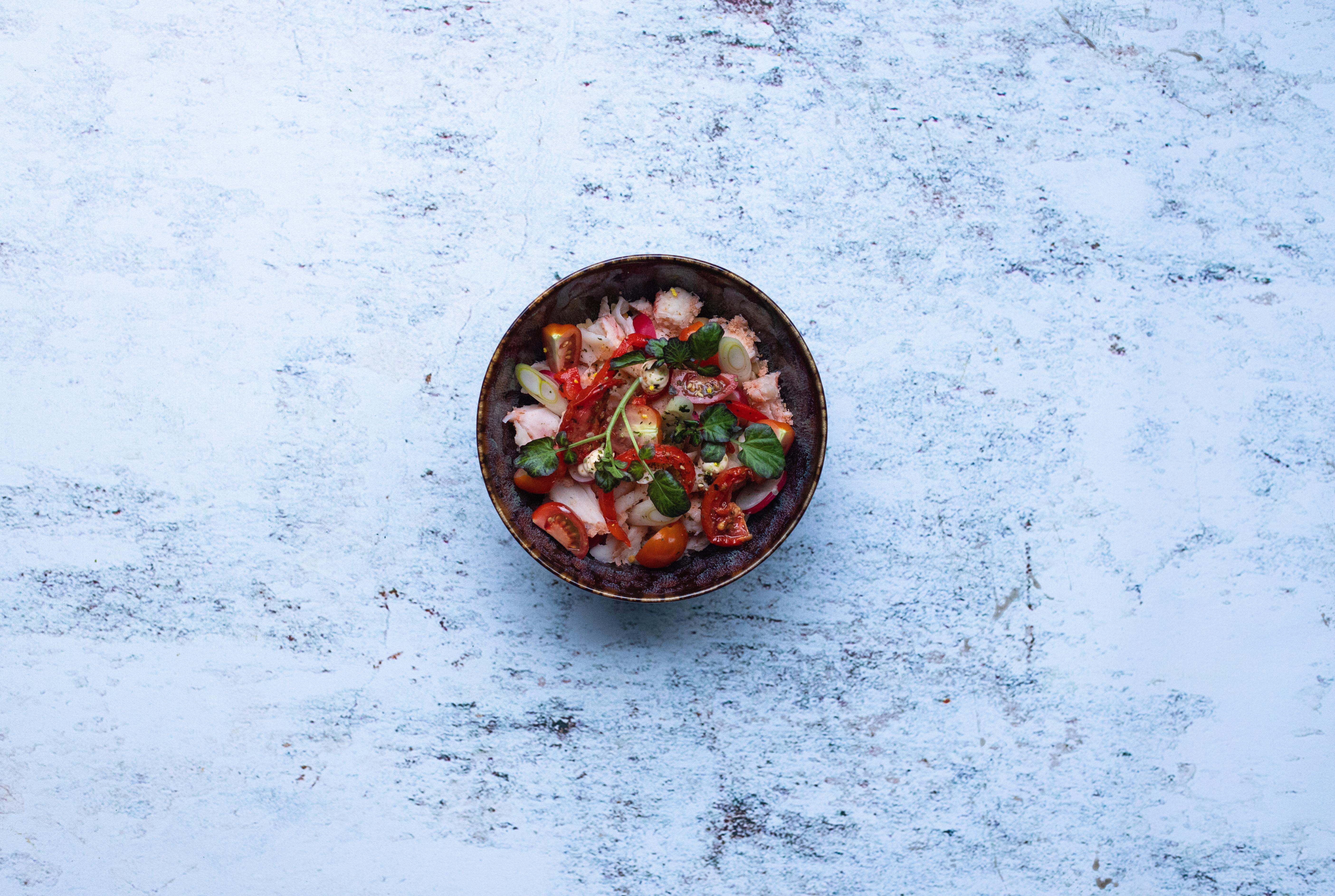 Salade Orzo met kreeft