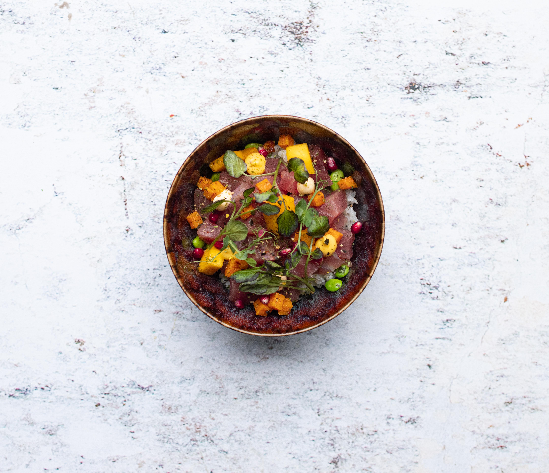 Poké bowl met tonijn