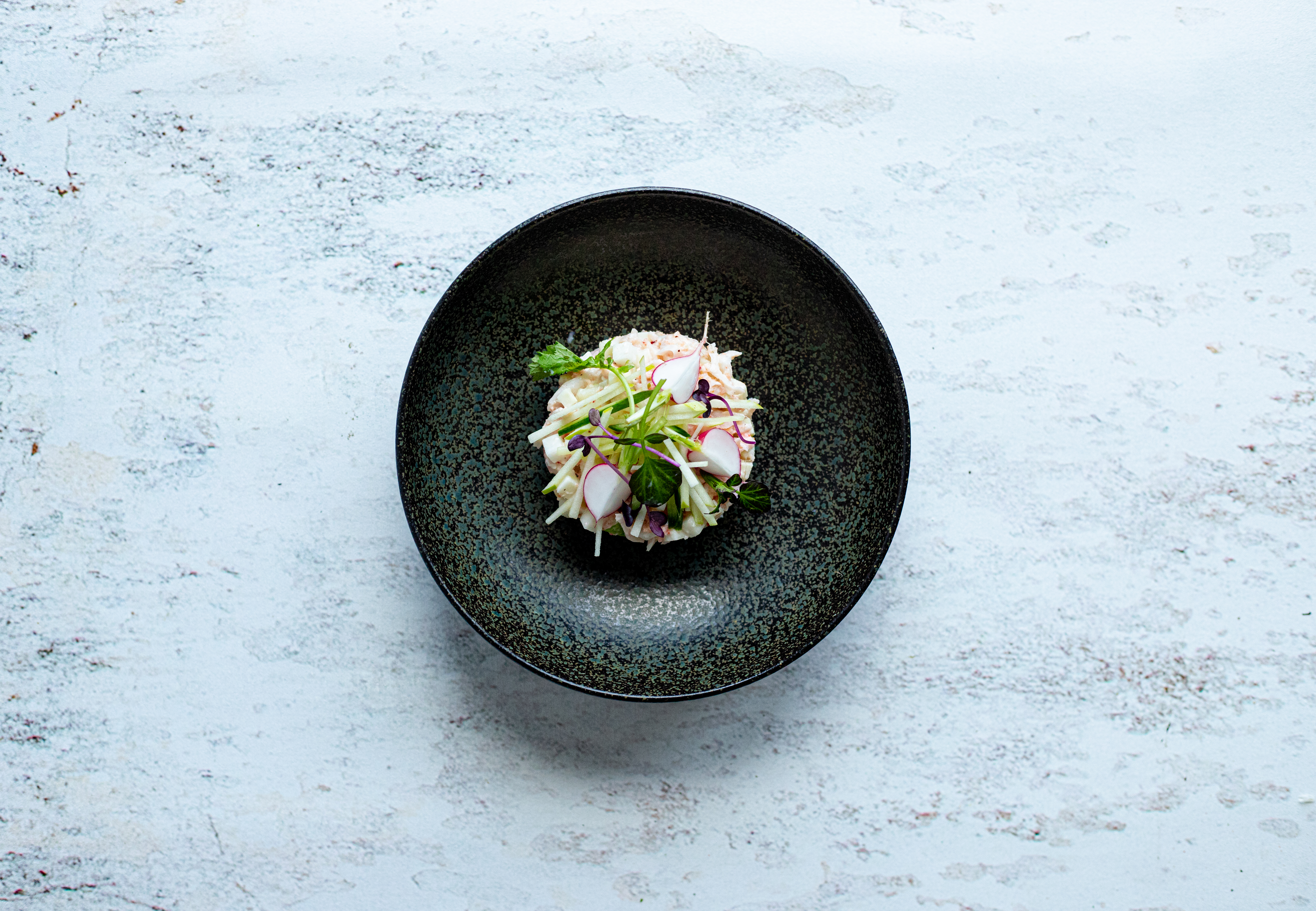 Salade van kreeft met Granny Smith