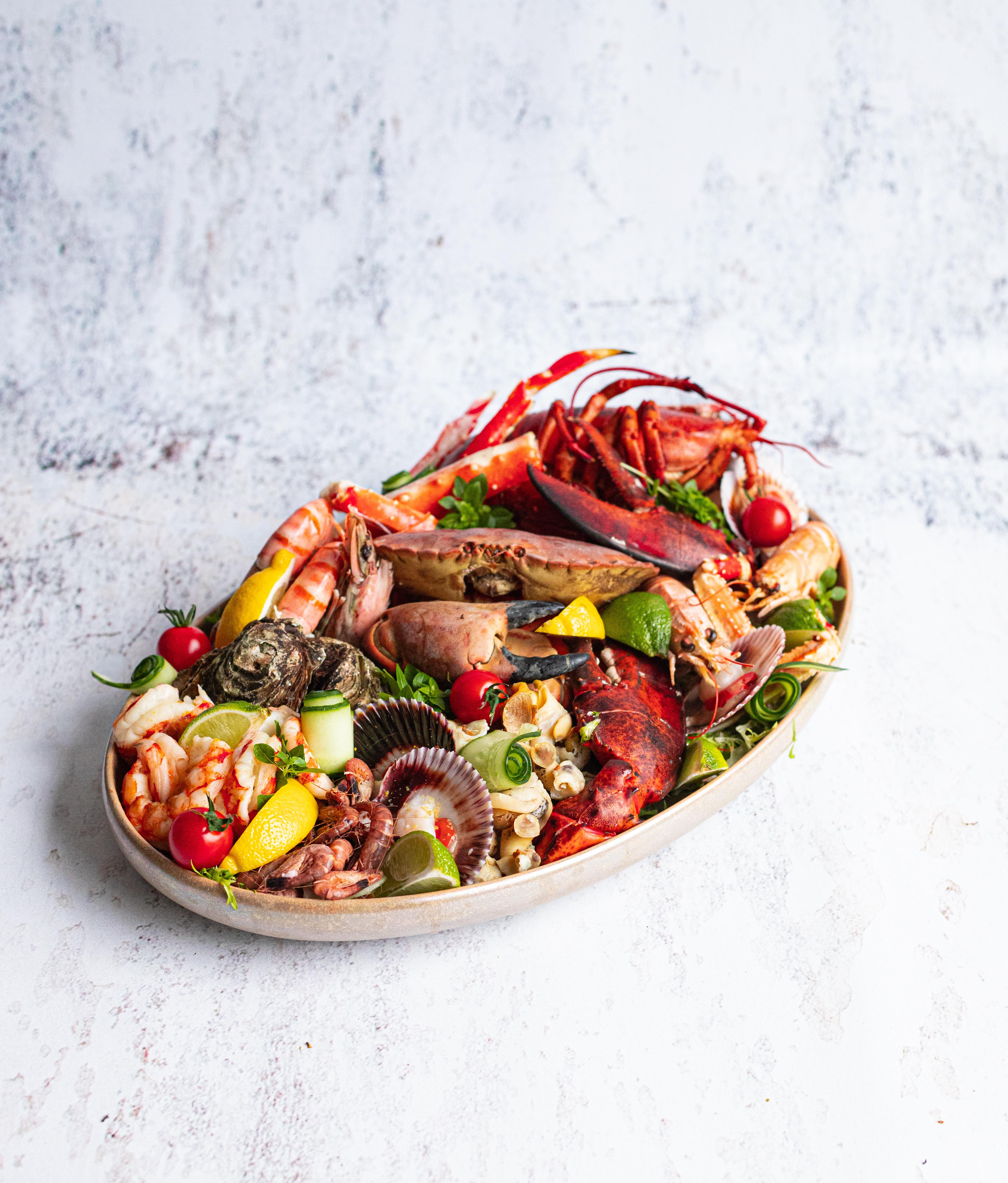 Fruit de mer plateau