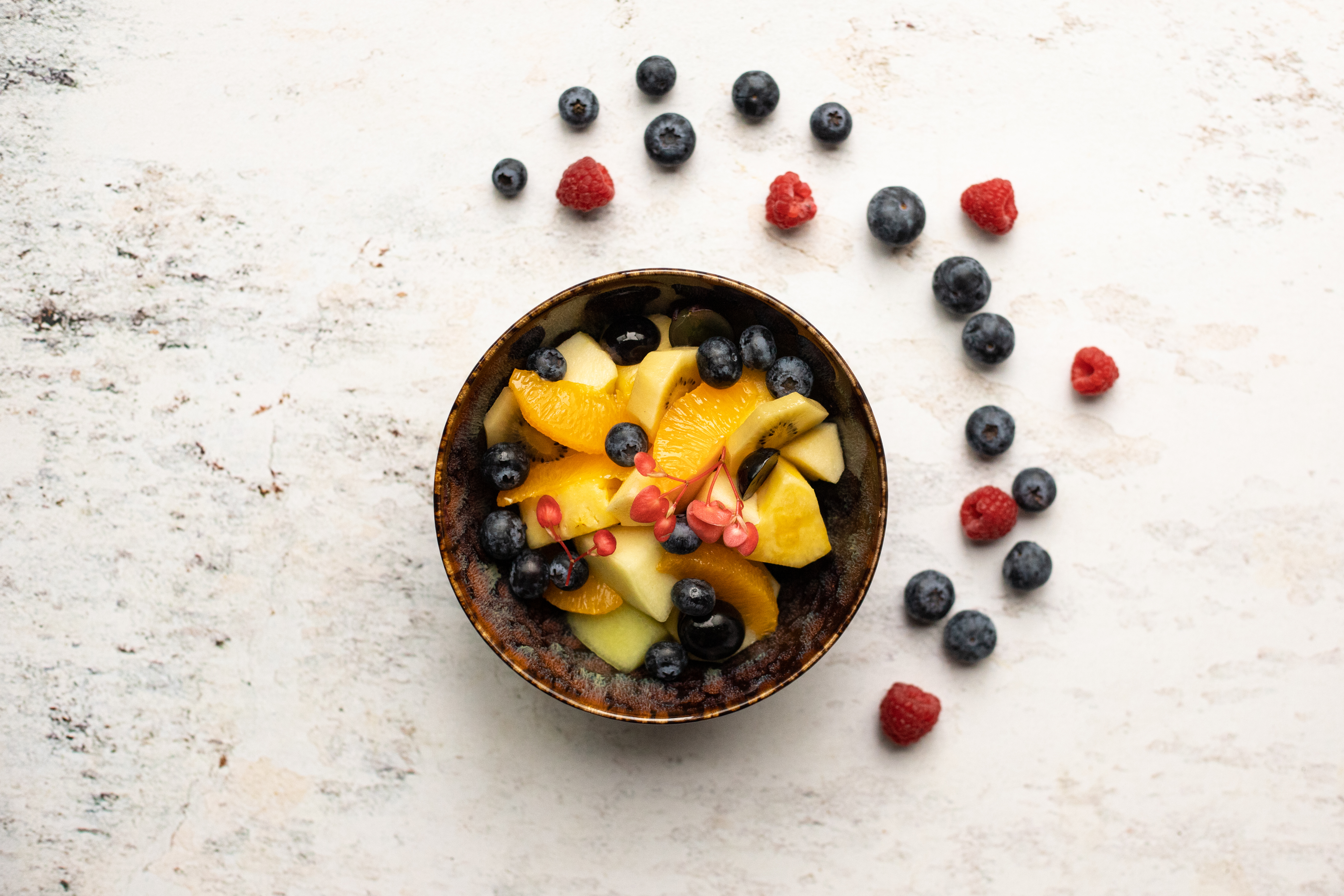 Vers gesneden fruitsalade